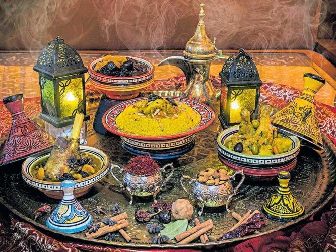 Feast on Arabian delights