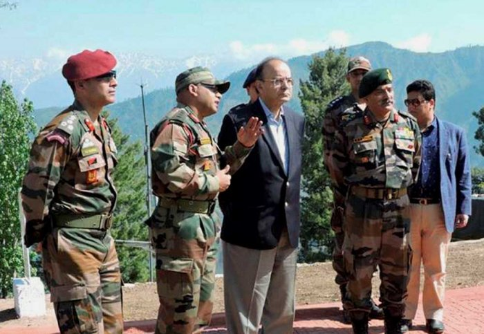 Killing of 6 cops by terrorists an act of 'cowardice': Jaitley