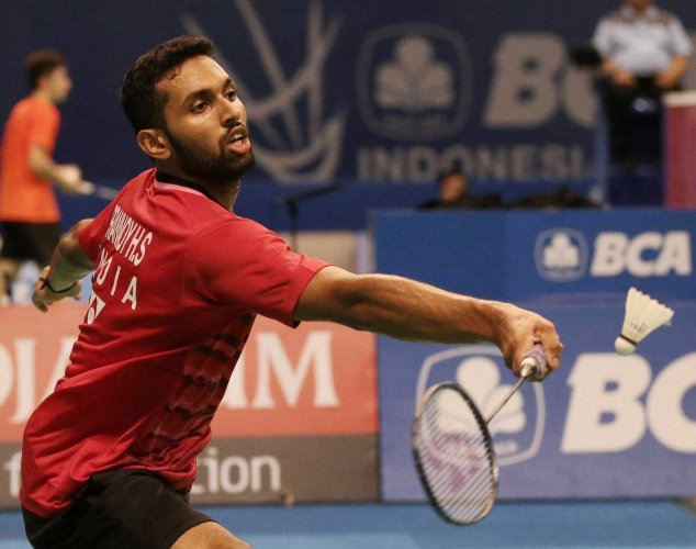 Prannoy's fight ends in agony in Indonesia Open
