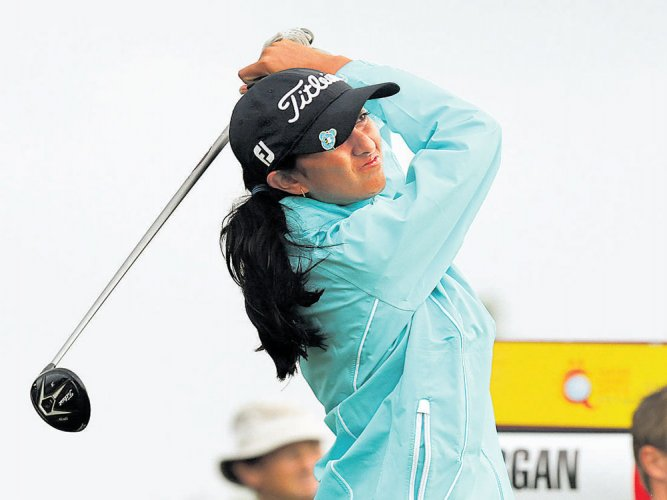 Solid Aditi moves to 14th to eye best finish of season