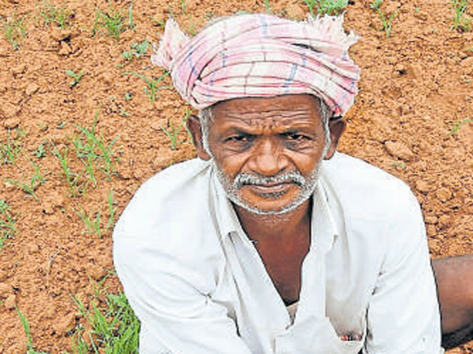 Farmers protest demanding loan waiver after a cultivator commits suicide