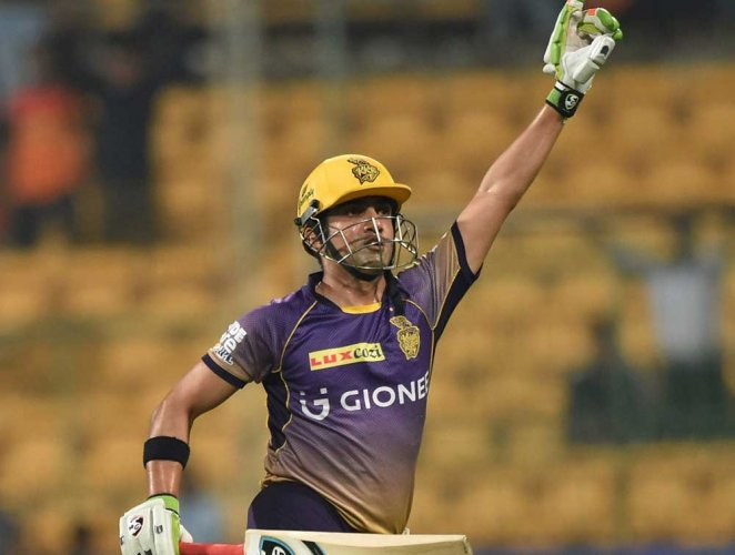 Suspended 4-match ban for Gambhir
