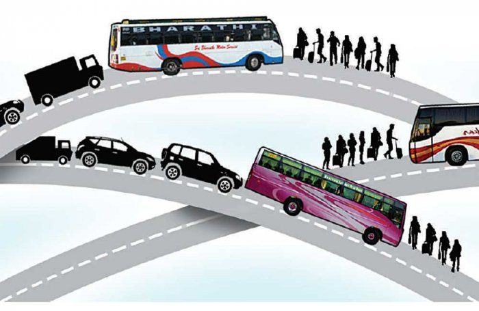 Private bus pick-up points, a recipe for chaos