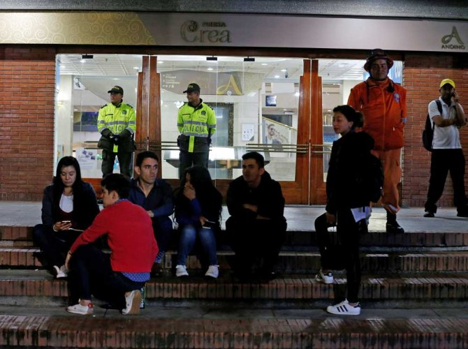 Colombia: Bombing at mall kills 3, including French woman