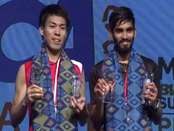 Sublime Srikanth lifts Indonesia Open title