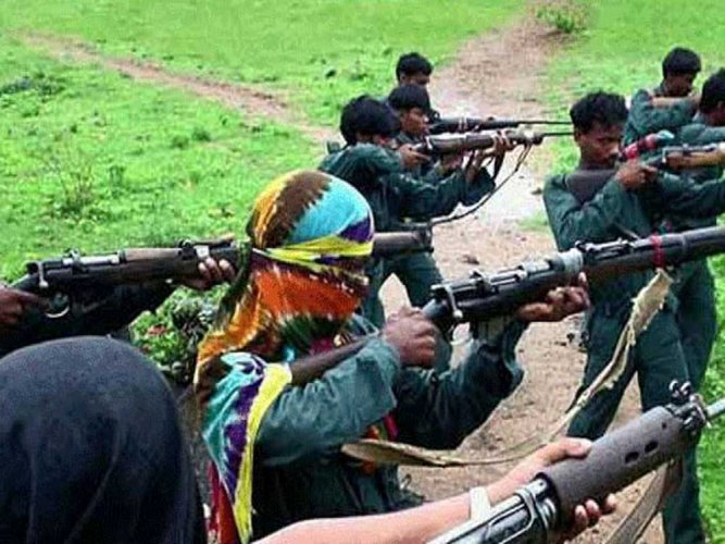 Three naxalites killed in exchange of fire in Chhattisgarh