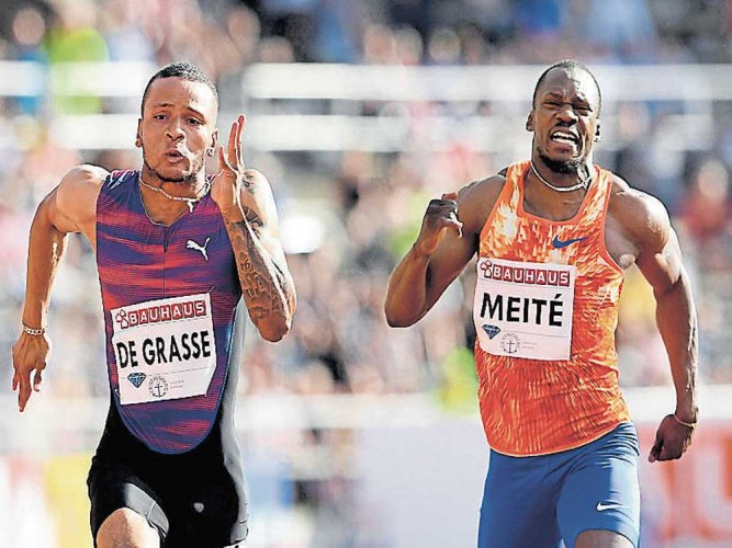 De Grasse surprised by his timing