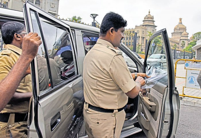 RTO conducts drive against 'fancy' number plates