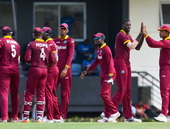 Windies name unchanged side for first two ODIs against India
