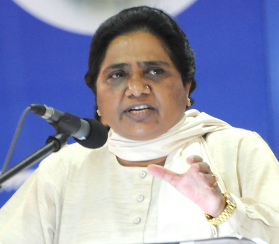 Yoga Day event, a misuse of funds: Mayawati