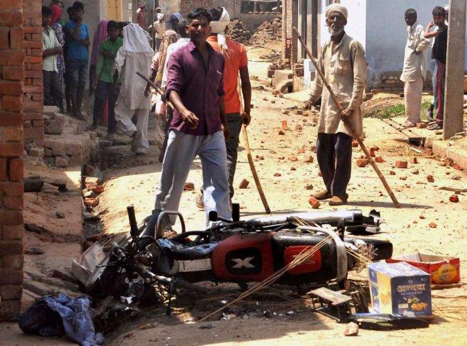 Dalit-Jat clash leaves one dead, dozens injured