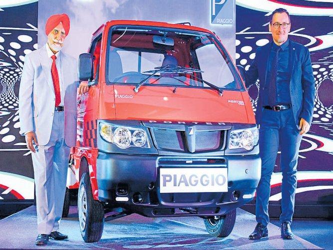 Piaggio ups its game in last-mile transport