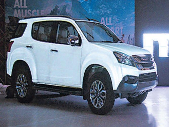 Isuzu drives in 'mu-X' premium SUV to India