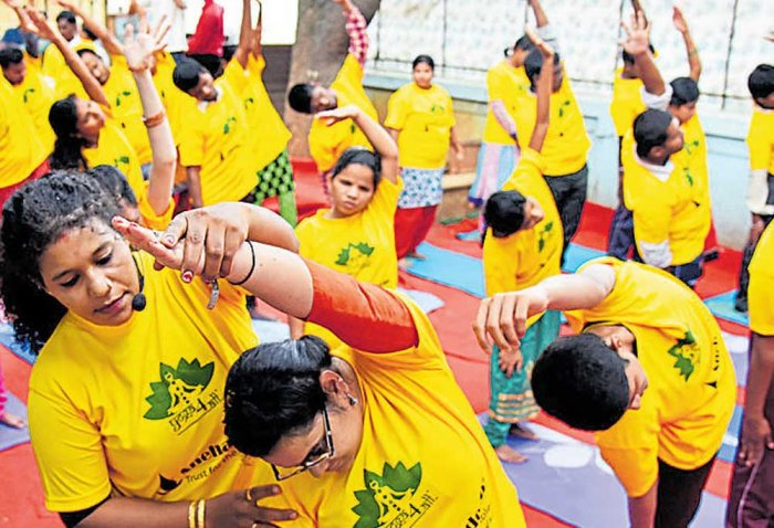 Bengalureans to bend it  for better health today