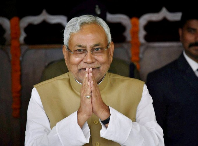 Nitish has a history of swimming against the tide