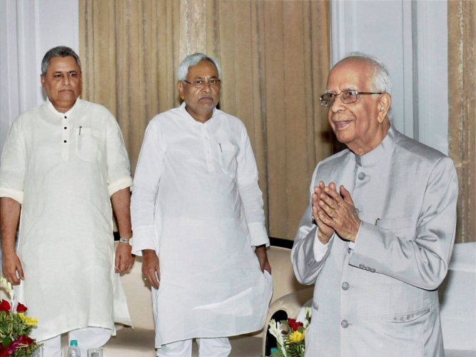 Tripathi takes oath as Bihar Governor