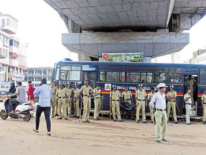 Normalcy returns to Kalladka, Bantwal; security upped