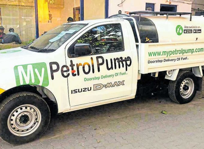 Bengaluru first in India to get diesel delivered home