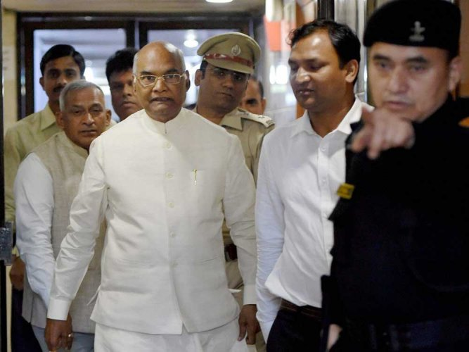 Kovind to file nomination today; Modi, NDA CMs to be there