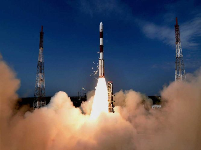 ISRO successfully launches PSLV-C38 carrying Cartosat-2 series satellite