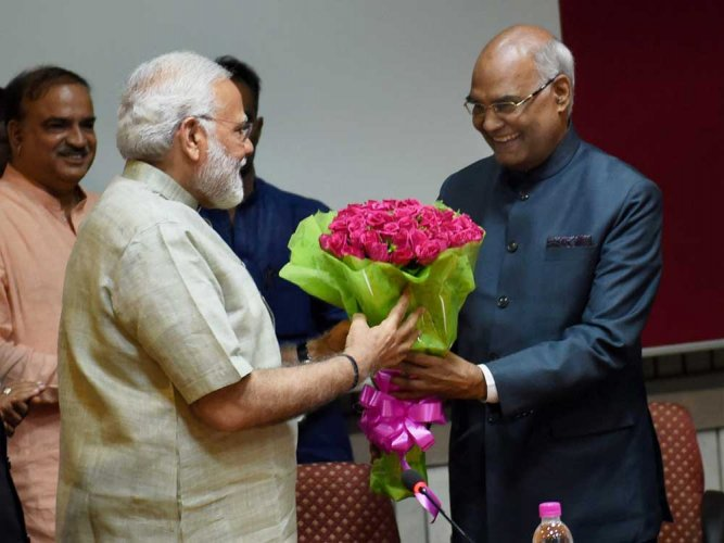 Don't belong to a party; prez post above party politics: Kovind