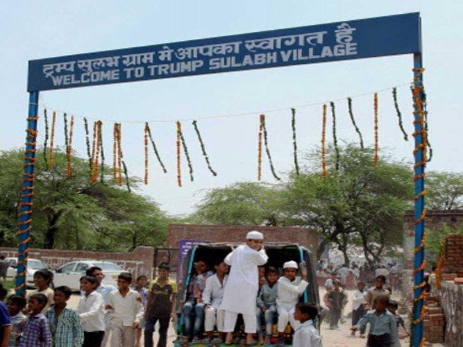 Haryana village dedicated to US president Donald Trump