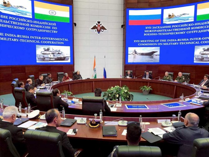 India, Russia sign protocol to step-up defence engagement