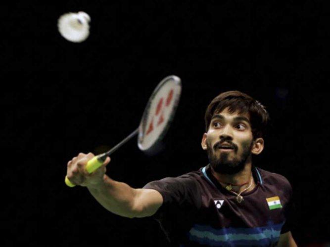 Srikanth reaches 3rd successive Super Series final