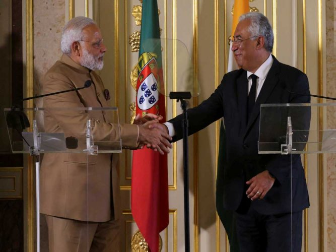 India, Portugal sign 11 pacts to boost bilateral ties