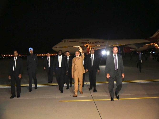 PM Modi arrives in Washington on second leg of 3 nation visit