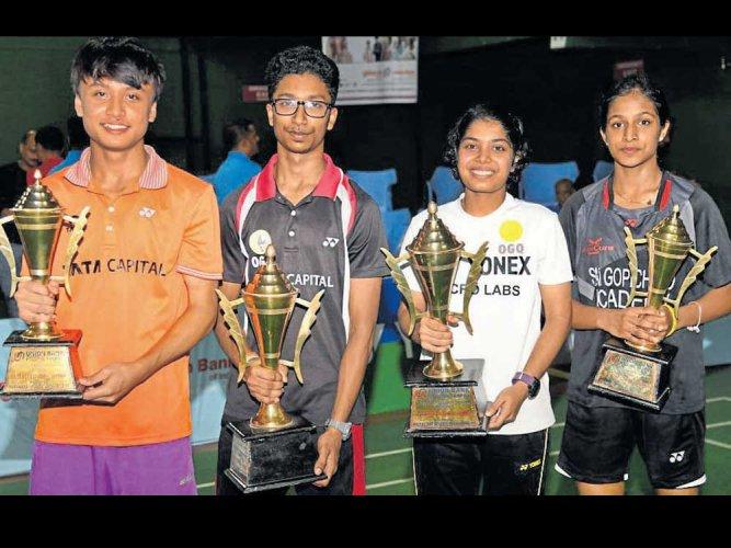 Rahul, Aakarshi U-19 champs