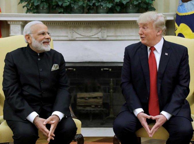 PM Modi and I are world leaders in social media, says Trump
