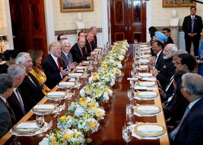 Guided White House tour, dinner symbolise Modi-Trump bonhomie