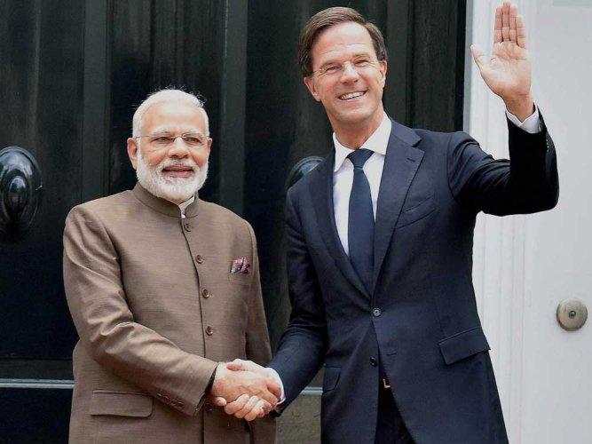 Netherlands is India's natural partner: PM Modi