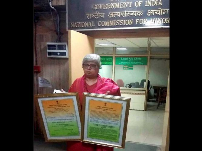 Hashmi returns National Minority Rights Award over 'lynchings'