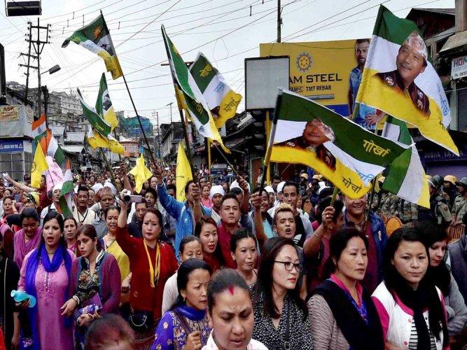 BJP rejects separate Gorkhaland demand