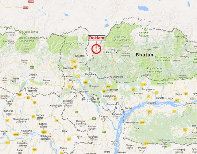China claims Doklam Plateau in Bhutan to gain strategic edge over India