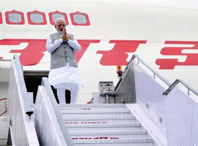PM Modi returns from three-nation tour