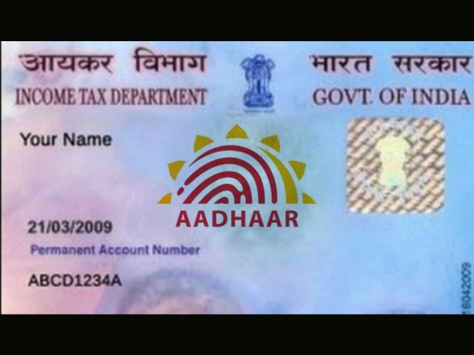 Linking of Aadhaar with PAN must from July 1