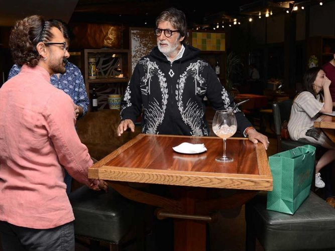 Bachchan completes first schedule of 'Thugs of Hindostan'