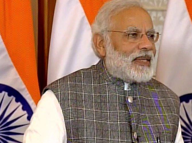 Modi to visit Israel next month
