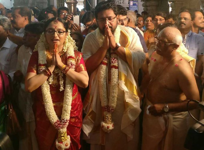 MLA ties knot with woman IAS officer