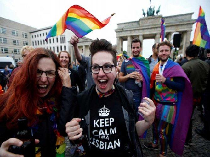 Germany legalises same-sex marriage, Merkel votes against