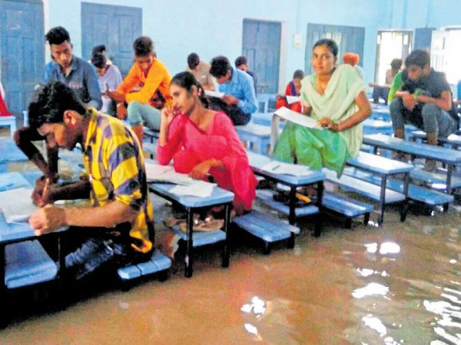 Rain hits normal life in north India; three killed in UP, Assam