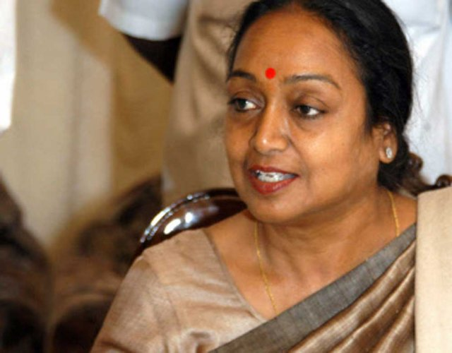 Prez fight based on ideology, not caste, reiterates Meira
