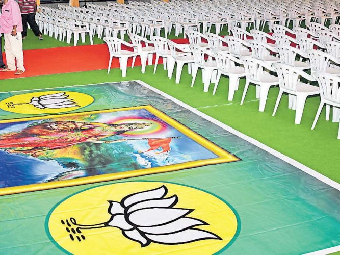 BJP workers begin reach-out programme