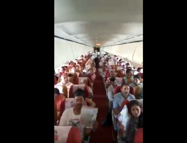 Video: Air India flight faces problem in AC system