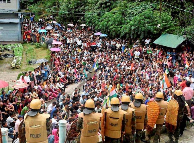 GJM wants Centre to start dialogue, hills witness violence
