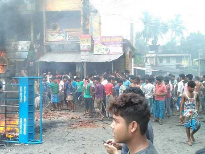 Situation tense in Baduria after communal clashes