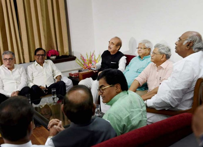 Opposition leaders to meet soon to decide on VP poll